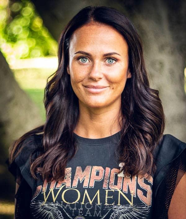 Amanda, frisör på Ansa i Göteborg